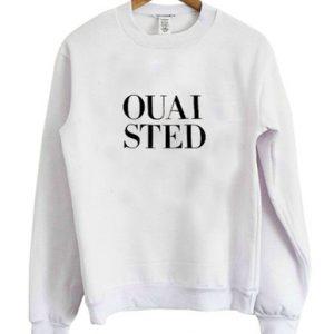 OUAISTED White Sweatshirt