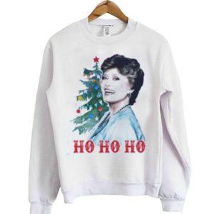 Parody Sweatshirt Blanche HO HO HO