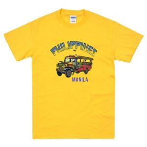 Philipines Manila Yellow Bus T-Shirt