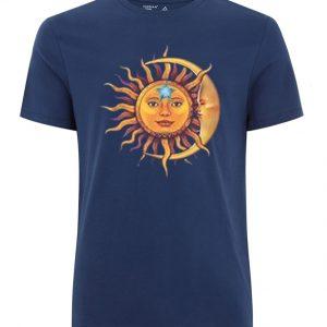 Sun Moon Blue T-Shirt
