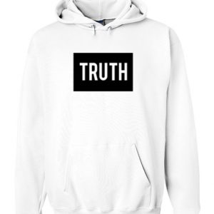 Truth White Hoodie