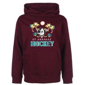 Of anahake hockey 90's Mighty Ducks hoodie