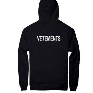 vetements unisex hoodie
