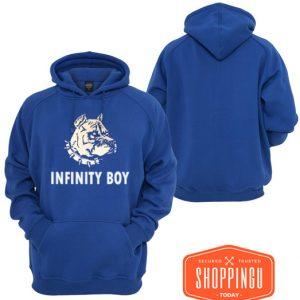 Infinity Boy Blue Hoodie