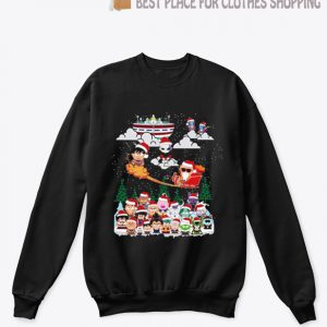 Dragon ball chibi Christmas sweatshirt