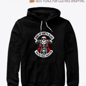 MC Santa II North Pole Chapter SONS of Santa Claus Hoodie