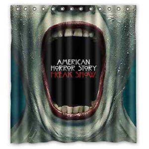 American Horror Story Freak Show Shower Curtain