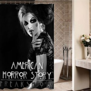 american horror story Custom Shower curtain