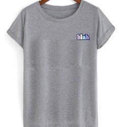 Blah Colourful Font T-Shirt