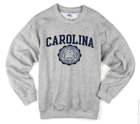 Carolina Grey Sweatshirt
