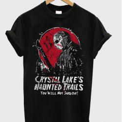 Crystal Lake Friday The 13th Shirt Jason Voorhees TShirt