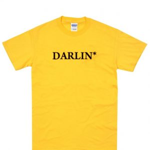 Darlin Gold Yellow T-Shirt