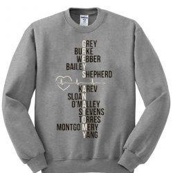 Greys Anatomy Grey Sweatshirt