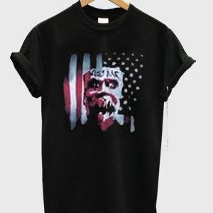 Kiss Me USA Flag Graphic T-Shirt