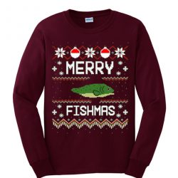 Merry Fishmas Sweatshirt