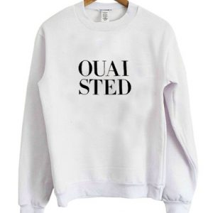 OUAISTED White Sweatshirt