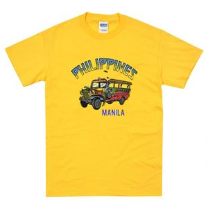 Philipines Manila Yellow Bus T-Shirt