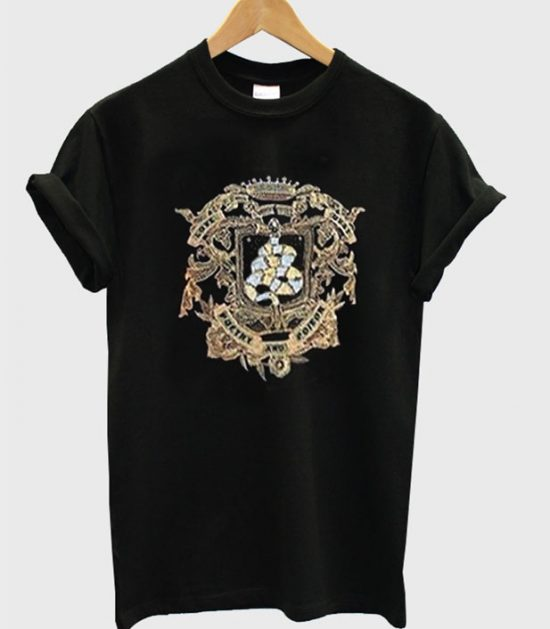 Poetry Poteor Black T-Shirt