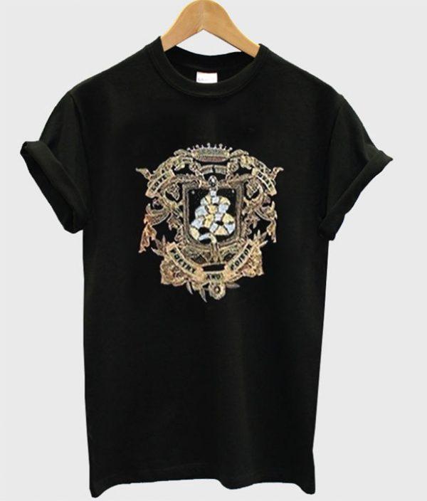 Poetry Poteor Black T-Shirt