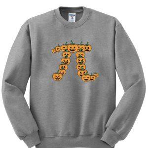 Pumpkin Pi Halloween Sweatshirt