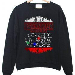 STRANGER Things LIGHT UP Ugly Christmas Sweatshirt