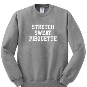 Stretch Sweat Pirouette Grey Sweatshirt