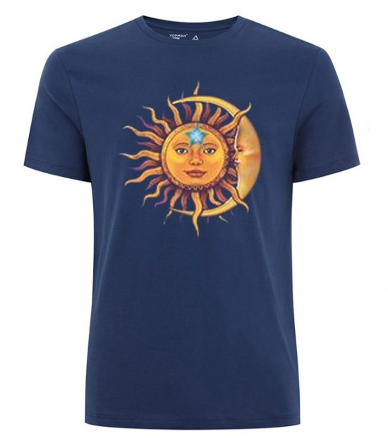 Sun Moon Blue T-Shirt