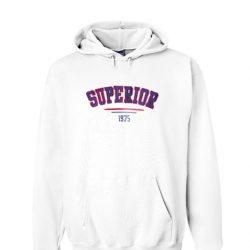 Superior 1975 White Hoodie