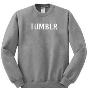 Tumblr Grey Unisex Sweatshirt
