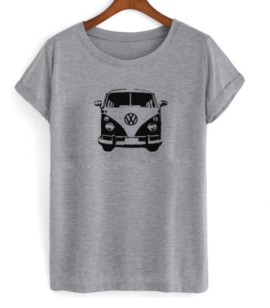 VW Micro Bus Front Graphic T-Shirt
