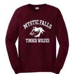 Vampire Diaries Mystic Falls Sweatshirt