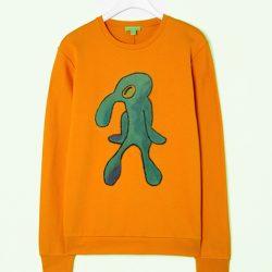 Bold and Brash Yellow Christmas Sweatshirt