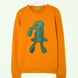 Bold and Brash Yellow Christmas Sweatshirt