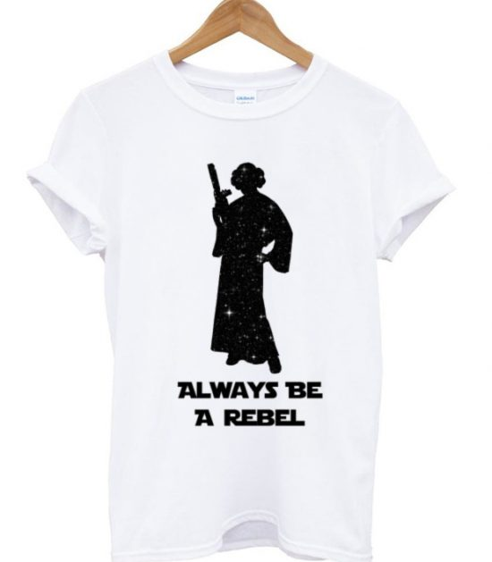 Star Wars Princess Leia galaxy T-Shirt