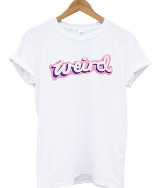 Weird Light Pink T-Shirt