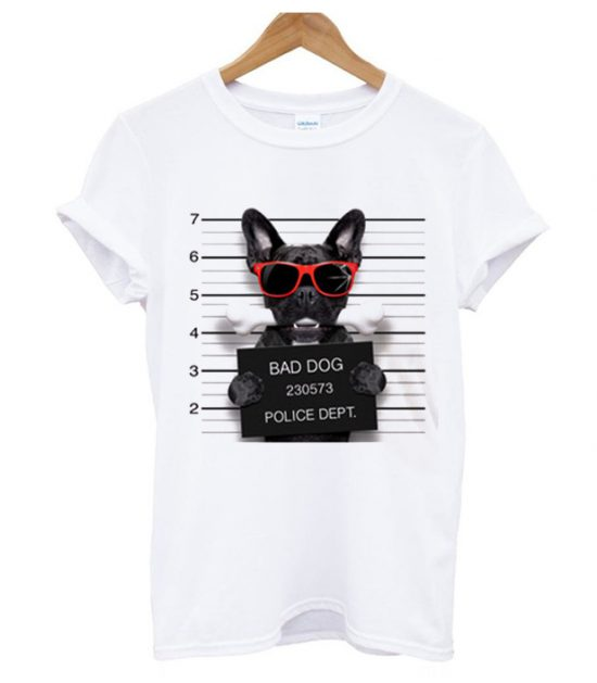 Bad Dog Police T Shirt