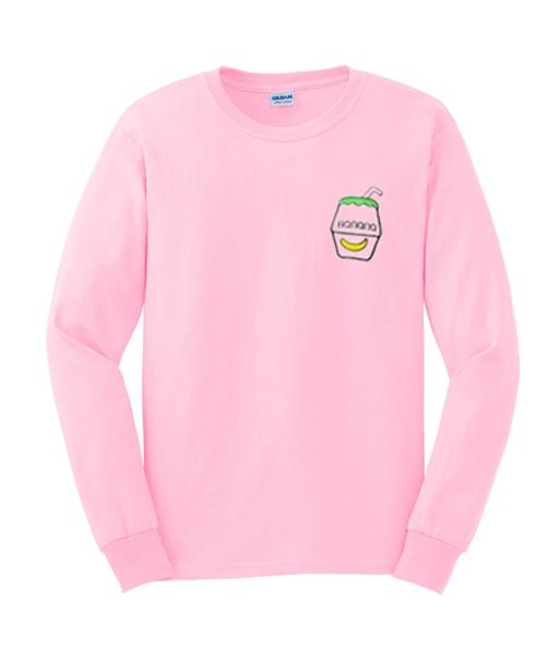 Banana Drink Unisex Sweatshirts