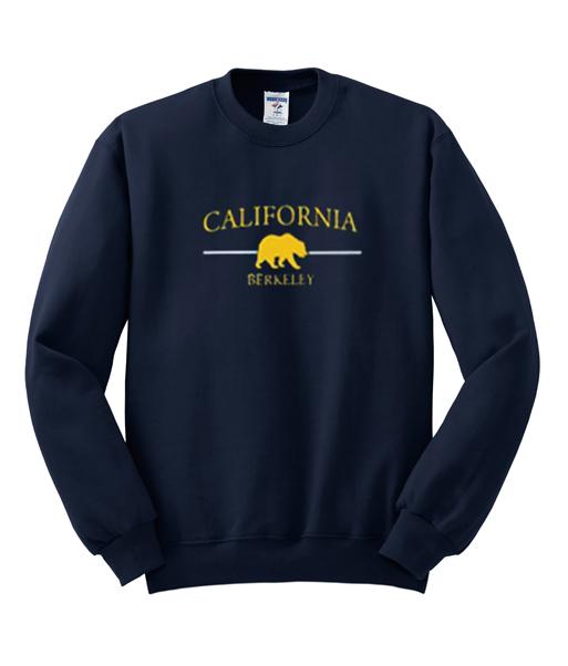California Berkeley Navy Sweatshirt