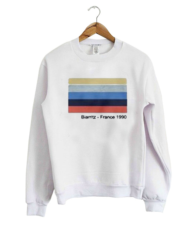 Biarritz France 1990 Sweatshirt