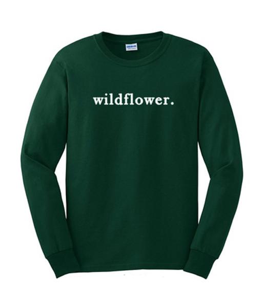 WildFlower sweatshirt