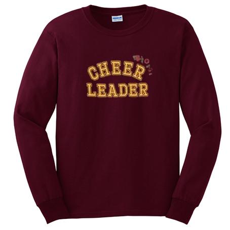 cheer leader rose sweatshirt