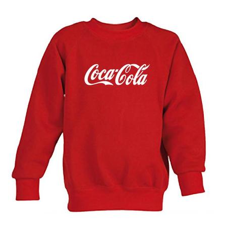 coca cola red sweatshirt