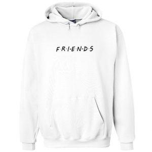 friends font hoodie