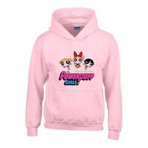 Power Puff Girls Pink Hoodie