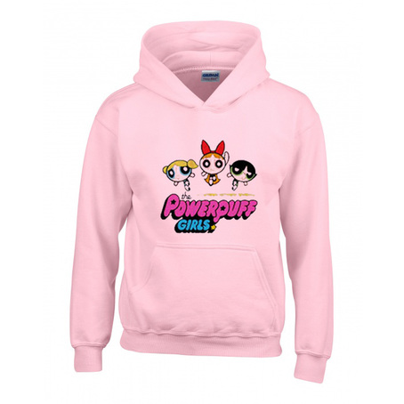 Power Puff Girls Pink Hoodie