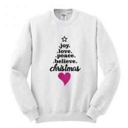 Believe Christmast Sweatshirt