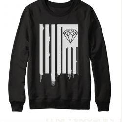 Diamond Dripping Trill Flag Sweatshirt
