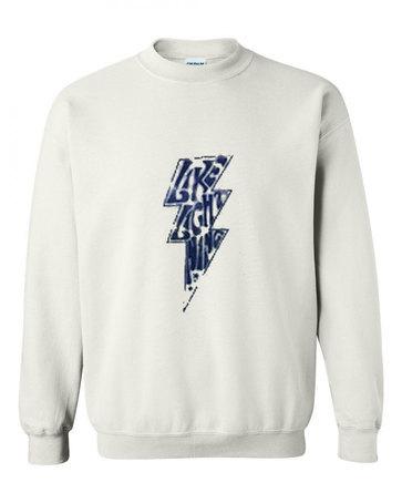 Like lightning Sweatshirt