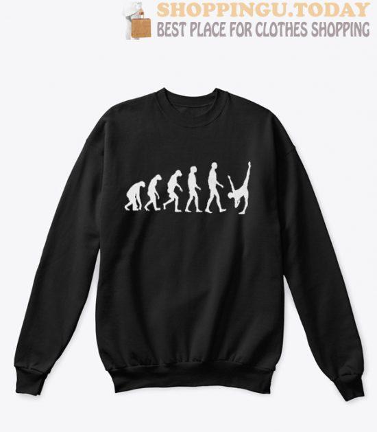 Evolution of a Ballet Dancer sweatshirt