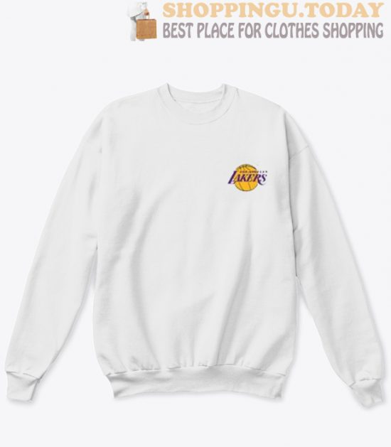 LA lakers pocket Sweatshirt